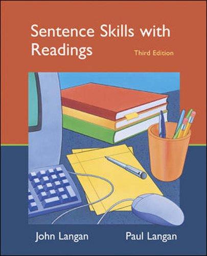 9780073017235: Sentence Skills with Readings (Langan Series)