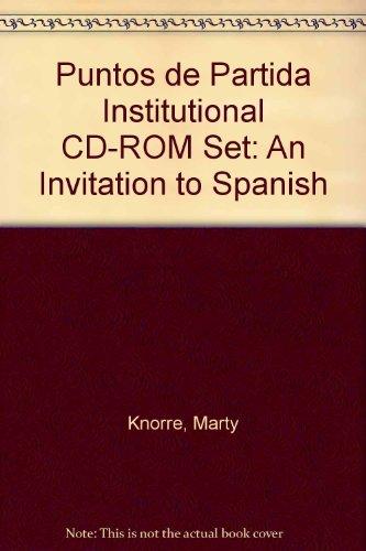 9780073017983: Puntos de Partida Institutional CD-ROM Set: An Invitation to Spanish (Spanish Edition)