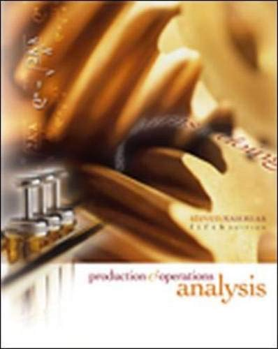 Production and Operations Analysis with Student CD: Steven Nahmias, Steven