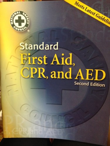 9780073019352: Standard First Aid, CPR, and AED