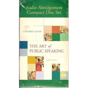 9780073021980: The Art of Public Speaking Audio Abridgement Compact Disc Set Edition: eighth
