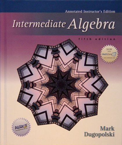 9780073022444: Intermediate Algebra (Annotated Instructor's Edition)