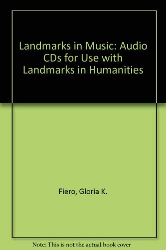 9780073022994: LANDMARKS in Music: Audio CDs for use with LANDMARKS in Humanities: Audio CD for use with Landmarks in Humanities