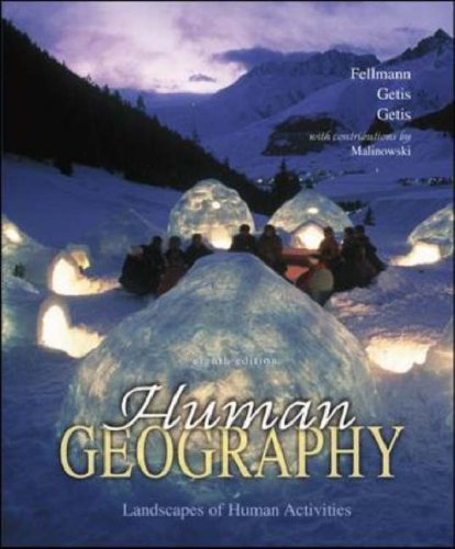 9780073026435: Human Geography with Online Learning Center (OLC) Password Card