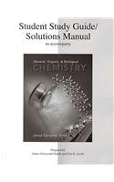 9780073026589: Student Study Guide/Solutions Manual to accompany General, Organic & Biological Chemistry