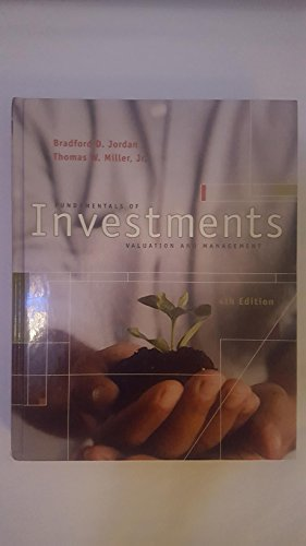 9780073027210: Fundamentals of Investments (McGraw-Hill/Irwin Series in Finance, Insurance, and Real Est)