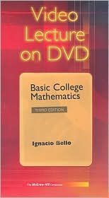 9780073027340: Video Lecture: Basic College Mathematics, 2nd Edition