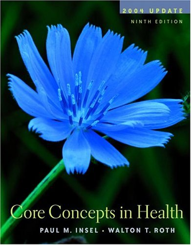 9780073028323: Core Concepts in Health 2004 Update w/PowerWeb/OLC Bind-in Card, HealthQuest CD, & Learning to Go