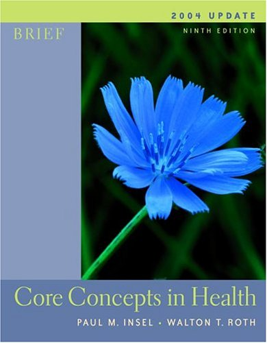 9780073028347: Core Concepts In Health Brief 2004 Update w/PowerWeb/OLC Bind-in Card, HealthQuest CD & Learning to Go