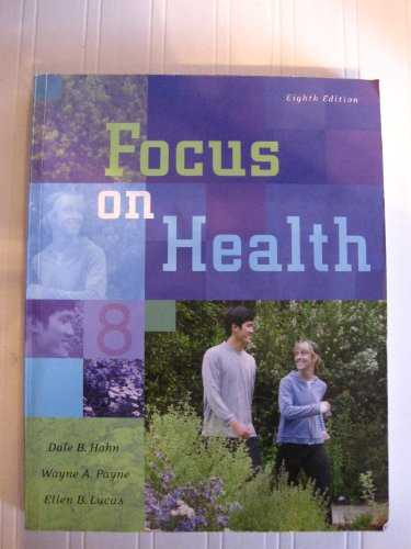 9780073028422: Focus On Health