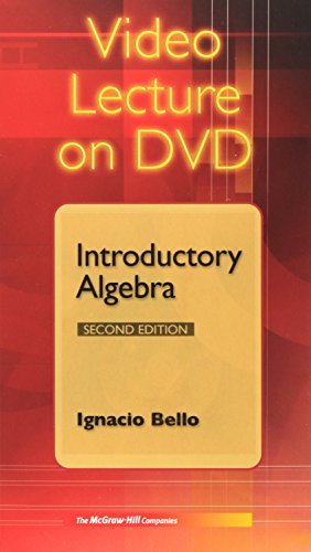 9780073029054: Video DVDs for Use with Introductory Algebra