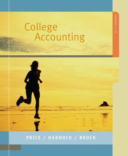 9780073029924: College Accounting Student Edition Chapters 1-32