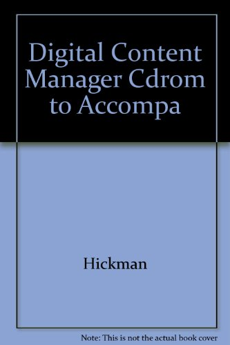 9780073030807: Digital Content Manager Cdrom to Accompa
