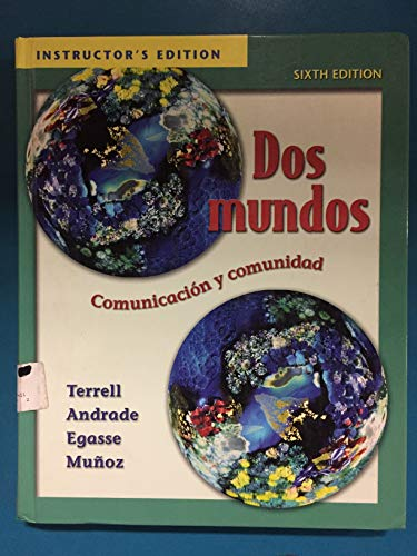9780073030937: Dos Mundos (Instructor's Edition) Edition: Sixth