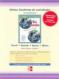 9780073030982: Online Cuaderno de actividades: To Accompany Dos Mundos
