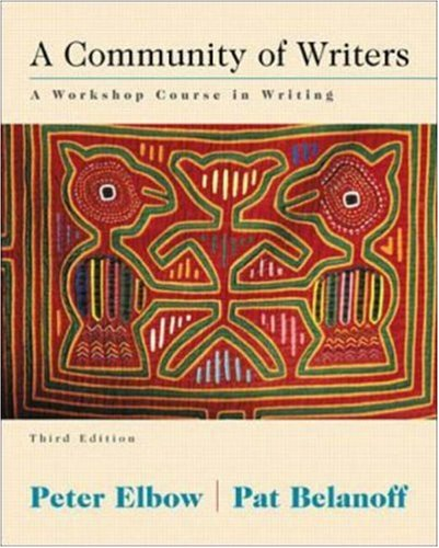9780073031811: A Community of Writers: A Workshop Course in Writing