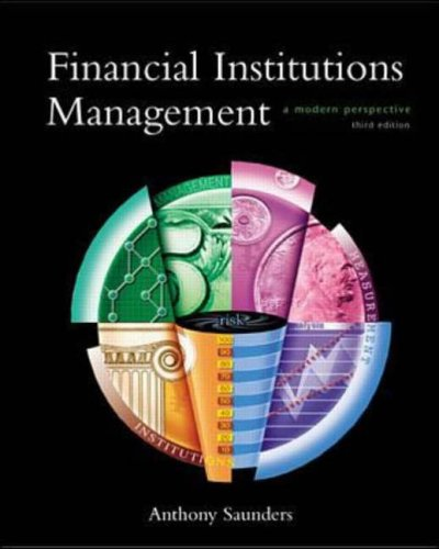 9780073032597: Financial Institutions Management: A Modern Perspective (Irwin/Mcgraw-Hill Series in Finance, Insurance and Real Estate)