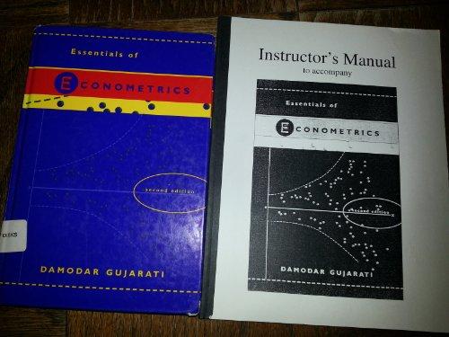 9780073032658: Essentials of Econometrics
