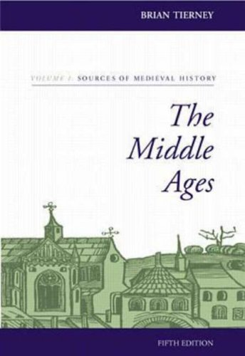 9780073032894: The Middle Ages, Volume I, Sources of  Medieval History: v. 1