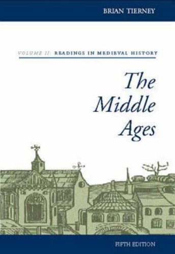 9780073032900: The Middle Ages, Volume II, Readings in Medieval History: v. 2