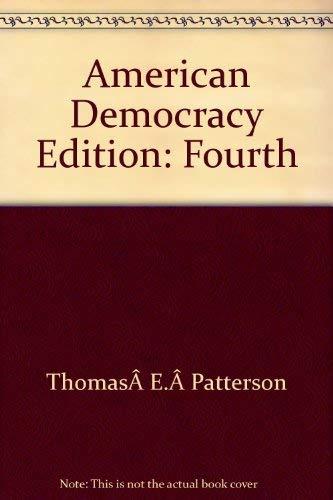 9780073034065: The American Democracy