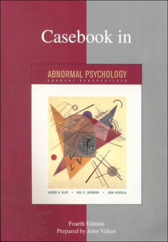 9780073034737: Casebook in Abnormal Psychology