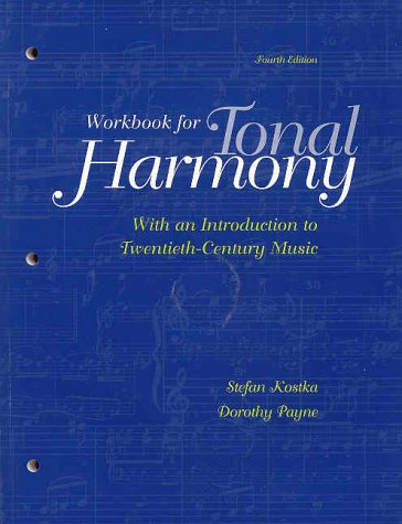 9780073035123: Student Workbook and CD for use with Tonal Harmony