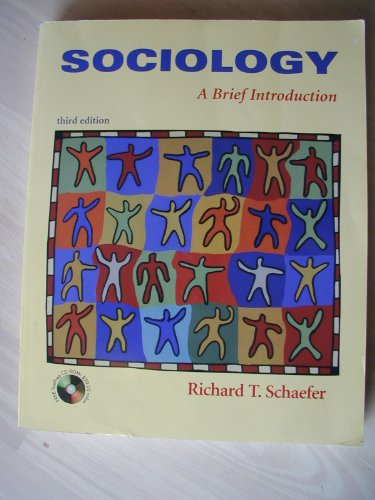 9780073035444: Sociology: A Brief Introduction