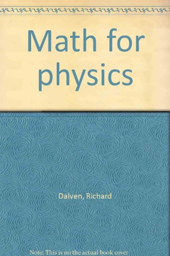 9780073035703: Math for physics