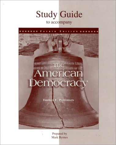 9780073035765: Study Guide to Accompany the American Democracy