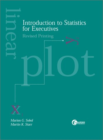 9780073035802: Introduction to Statistics for Executives, Revised