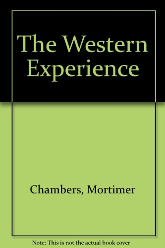 9780073036328: Interactive Study Guide CD-ROM for use with The Western Experience