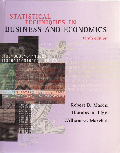 9780073039350: Statistical Techniques in Business and Economics