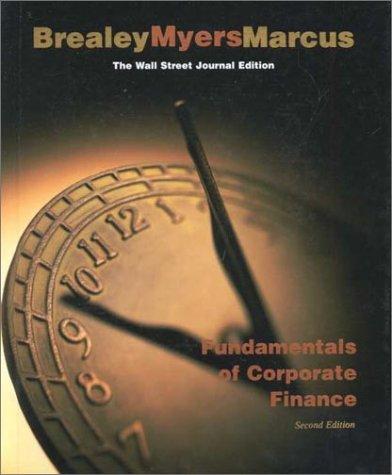 9780073040097: Wall Street Journal Edition Fundamentals Corp Finance