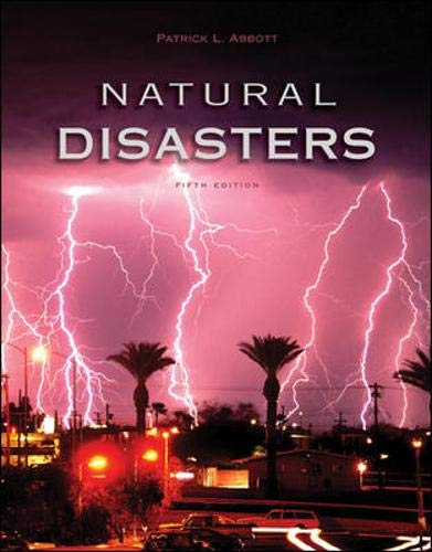 9780073040776: Natural Disasters