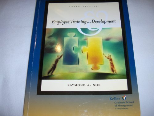9780073041278: Employee Training and Development