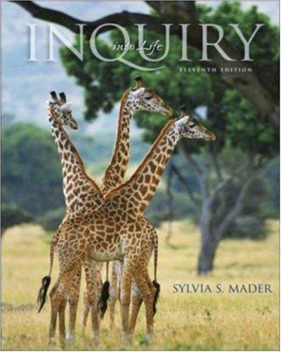 9780073041506: Inquiry Into Life