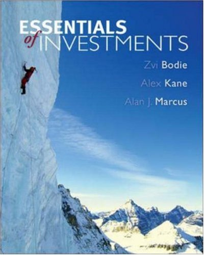 9780073041537: Essentials of Investments, 6th Edition