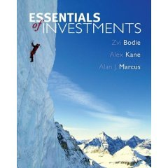 9780073041568: Solutions Manual to accompany Essentials of Investments