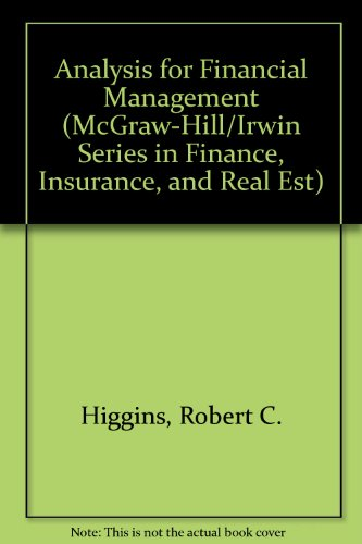 9780073041803: Analysis for Financial Management