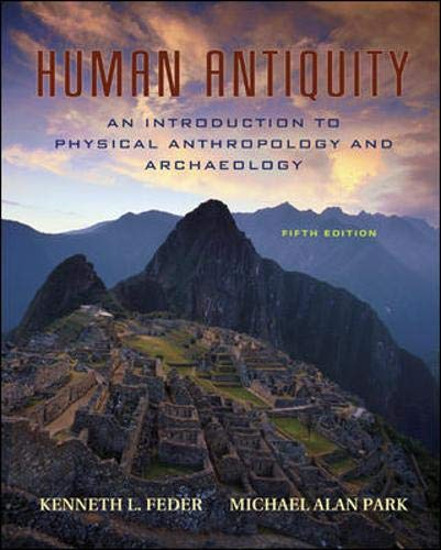 9780073041964: Human Antiquity: An Introduction to Physical Anthropology and Archaeology