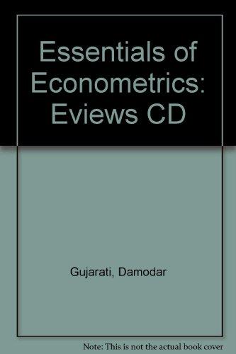 9780073042107: Eviews CD to Accompany Essentials of Econometrics