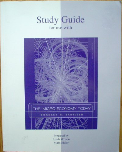 9780073042213: Study Guide (Printed) t/a The Micro Economy Today 10e