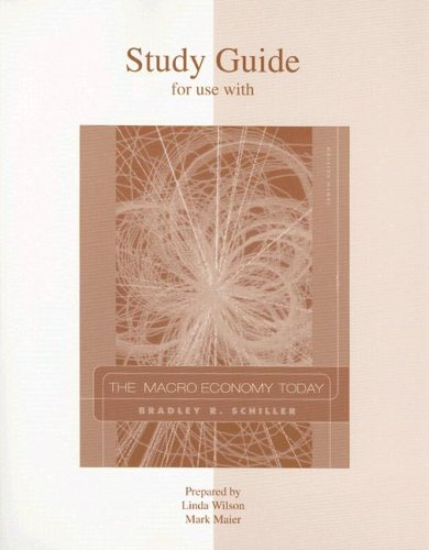 9780073042244: Macro Economy Today: Study Guide