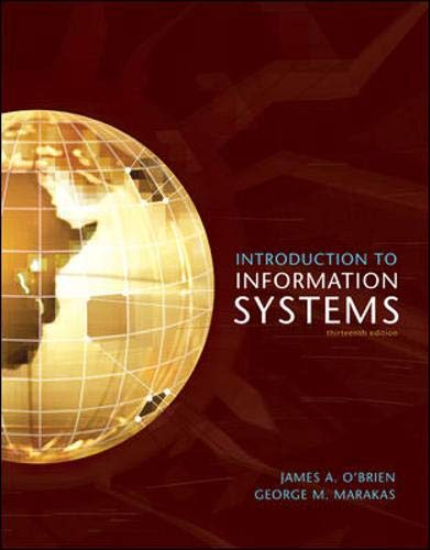 9780073043555: Introduction to Information Systems