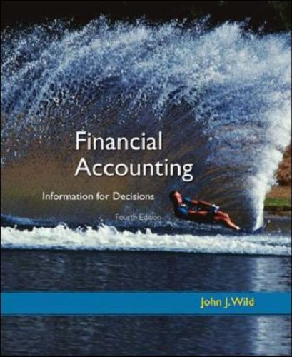 9780073043753: Financial Accounting: Information for Decisions