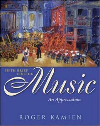 9780073043883: Music: An Appreciation Brief Edition with Multimedia Companion