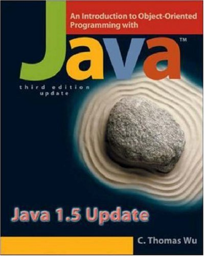 9780073043913: An Introduction to Object-Oriented Programming with Java 1.5 Update with OLC Bi-Card