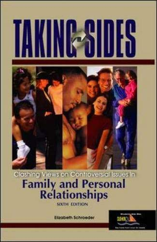 9780073043982: Taking Sides: Clashing Views on Controversial Issues in Family and Personal Relationships (Taking Sides: Family & Personal Relationships)