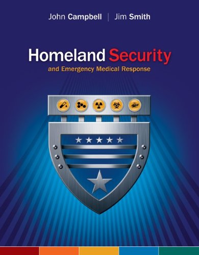 9780073044378: Homeland Security and Emergency Medical Response